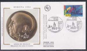France # 2420, Formula for Wave Properties, First Day Cover