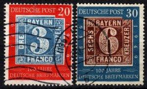 Germany #667-8  F-VF  Used CV $86.50 (X4824)