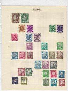 germany stamps page for dealer ref 17744