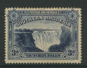Southern Rhodesia- Scott 32 - Victoria Falls  -1932 - MNH - Single 3d Stamp