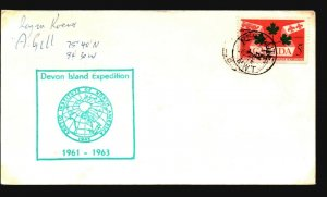 Canada - 3 Signed Polar Expedition Covers (I) - Z16029