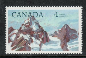 Canada #934a Very Fine Never Hinged Inscriptions Shifted **With Certificate**