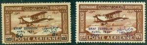 Egypt #C3-C4  Mint F-VF NH  Scott $150.00