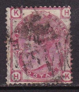 Great Britain 1873 3d rose Plate-18 QV   FINE/(0)