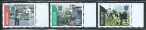 Palestine Authority Unlisted 2013 Police Day set MNH (16-15)