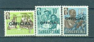 Tanganyika sc# O21-28 mh cat value $2.50