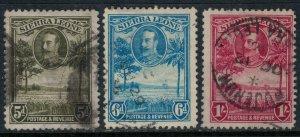 Sierra Leone #146-8  CV $25.25