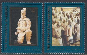 UN 716-7 MNH - Terracotta Warriors