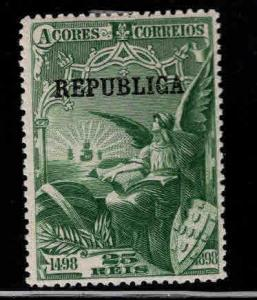 Azores Scott 143  Vasco da Gama  overprint stamp