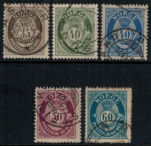 Norway #91-5  CV $2.30