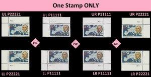 US 3141 The Marshall Plan 32c plate single MNH 1997