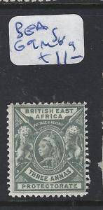 BRITISH EAST AFRICA (PP1111B) QV 3A LION SG 69  MOG
