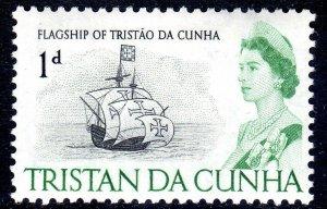 TRISTAN DA CHUNA     1965-67    SG72       LMM