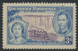 Southern  Rhodesia  SG 38  SC# 40   MH  Coronation see scans  and details