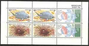 1979 New Zealand 776-778KL Sea fauna
