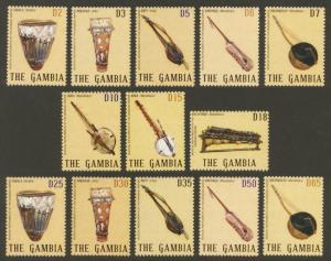 Gambia Sc# 3278-90 MNH Traditional Musical Instruments