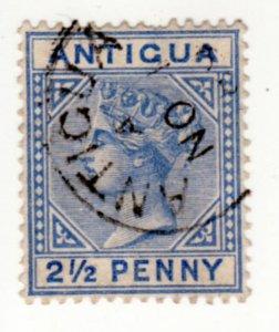 Antigua #14, Used, CV $17   ........   0260012