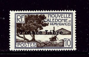 New Caledonia 222 MH 1941 Overprint