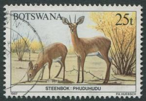 BOTSWANA 1987 - 25t USED