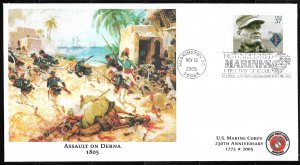 2005 Sc3962 Great Moments in USMC History: Assault on Derna FDC