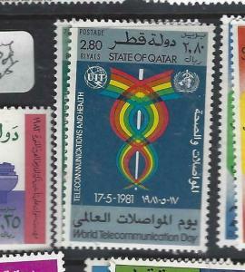 QATAR  (P1306B)   UN  ITU  SG 713-4   MNH