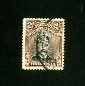 Rhodesia Stamps # 133 Superb Used Catalog Value $110.00