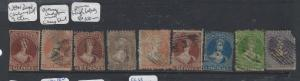 NEW ZEALAND  (P2912B) CHALONS LOT OF 9 MIXED QUALITY USED
