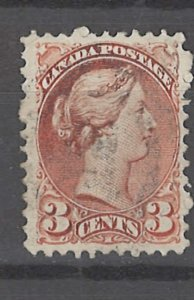 COLLECTION LOT # 3194 CANADA #37e PERF 11 1/2X12 1873 CV=$12.50