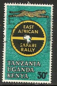 Kenya, Uganda & Tanzania 1965 Scott# 148 Used