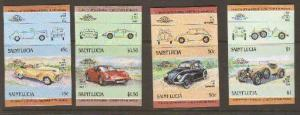St Lucia #739-46 Imperf MNH