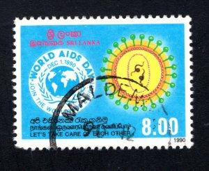 Sri Lanka #989,    VF, Used,  CV $3.50 ....  1290491