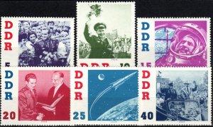 DDR  #576-81   MNH   CV $8.70  (X2011)