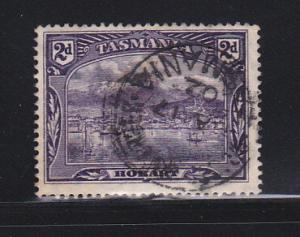 Tasmania 88 U View Of Hobart (B)