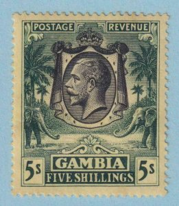 GAMBIA 124  MINT HINGED OG * NO FAULTS VERY FINE !