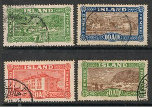 ICELAND 1925 LANDING THE MAIL