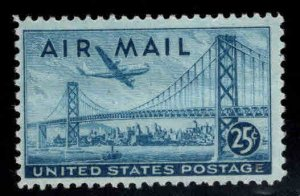 USA Scott C36 airmail stamp, Oakland Bay Bridge MNH**