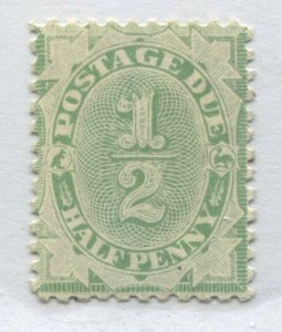 Australia 1902 1/2d Postage Due perf 11 unmounted mint NH