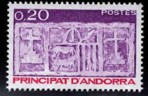 Andorre (French) Andorra Scott 312 MNH** 1983 Coat of Arms stamp