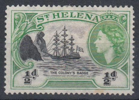 St Helena - 1953 Definitive (1/2d) (MH)