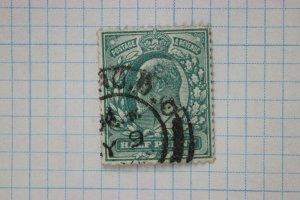 GB sc#127  used cv$45 blue green bluish