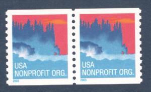 3775 Sea Coast Nonprofit Pair Mint/nh (Free Shipping)