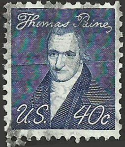 # 1292a USED TAGGED THOMAS PAINE