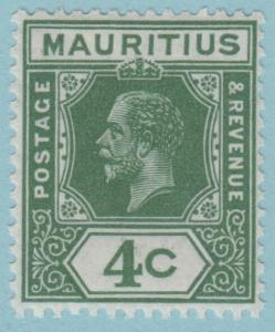 Mauritius 183 Mint Hinged OG *  - No Faults Very Fine!