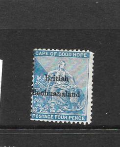 BECHUANALAND  1885-87  4d   HOPE   MNG    SG 3