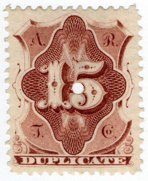 (I.B) USA Telegraphs : American Rapid 15c (Duplicate)