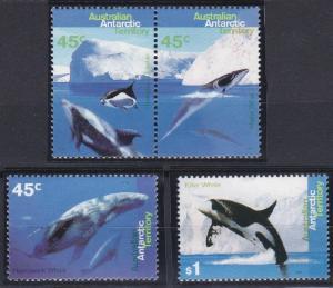 Australian Antarctic Territory L94-L97 MNH (1997)