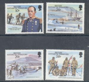 British Antarctic Territory Sc 137-0 Scott stamps mint NH