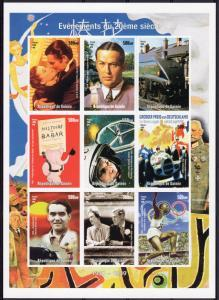 Guinea 1998 EVENTS 2Oth CENTURY EDWARD VIII Sheet Imperforated Mint (NH)