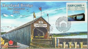 CA19-040, 2019, Historic Covered Bridges, Pictorial Postmark, First Day Cover,