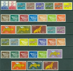 EDW1949SELL : IRELAND 1957-75 Scott #161-62, 250-65, 290-304. 3 diff Cplt sets.